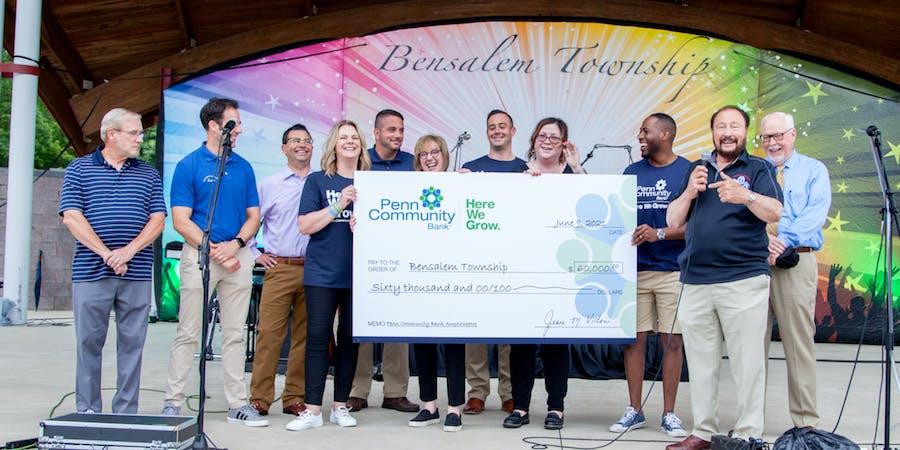 Penn Community Bank Kicks Off Bensalem Summer Concert Series