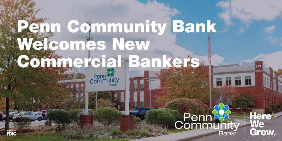 Penn Community Bank Welcomes New Commercial Bankers